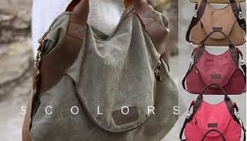 The Outlander Canvas Messenger Bag