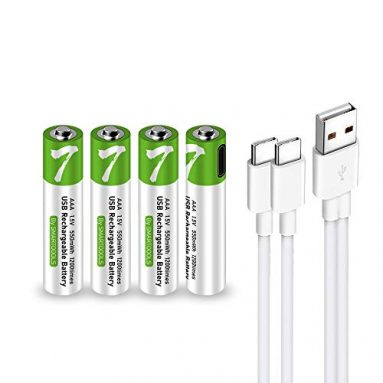 USB AAA Lithium ion Rechargeable Battery