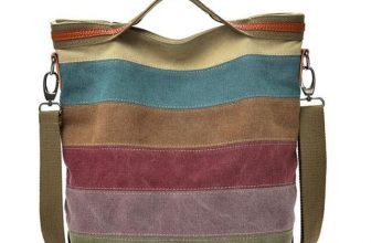 The Striped Daily Canvas Bag